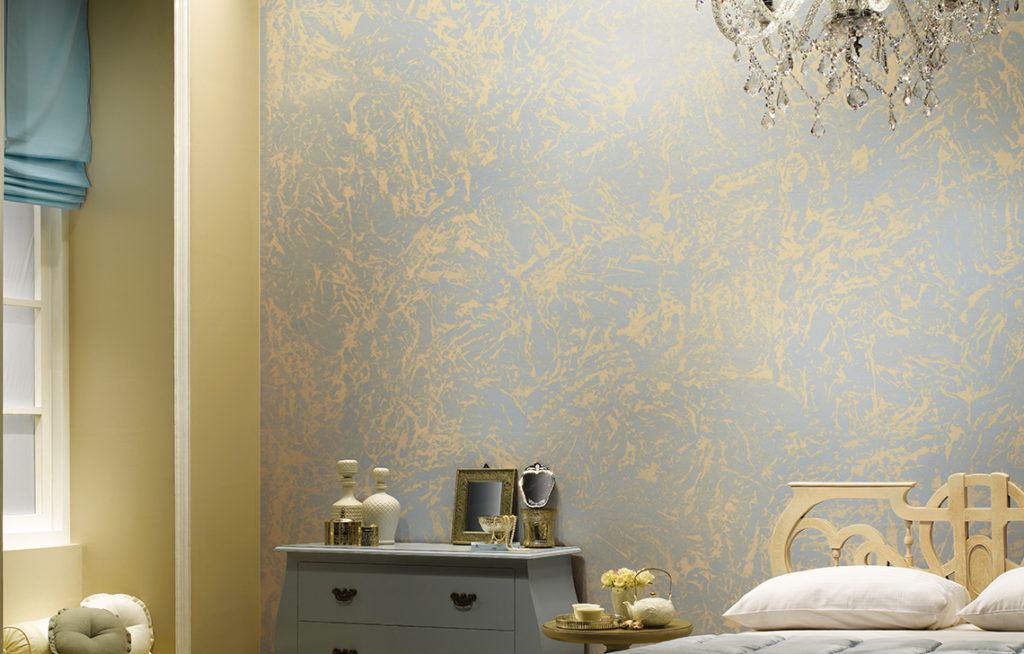 Sponging : Wall Texture Painting Design