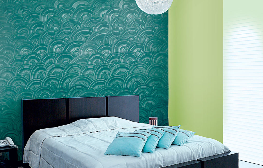 Disk : Wall Texture Painting Design