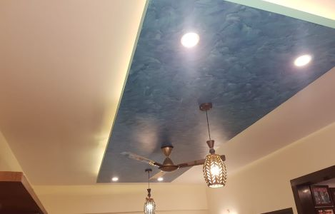 Centre Rectangle Ceiling Design