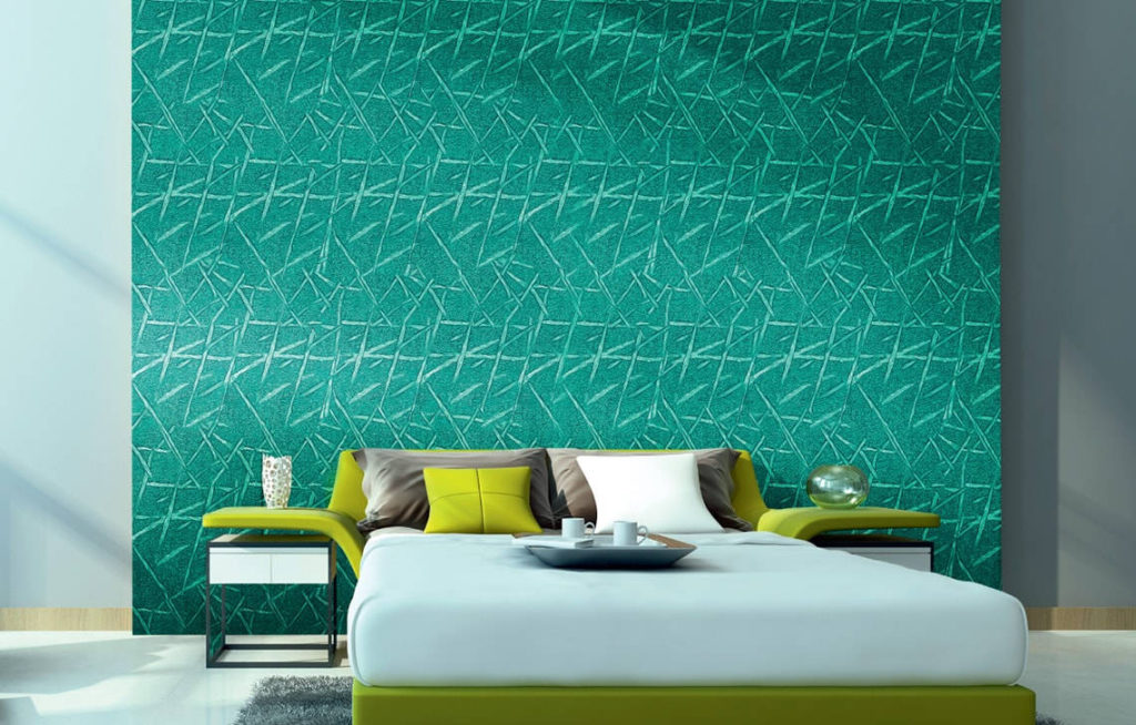 Criss-Cross : Wall Texture Painting Design
