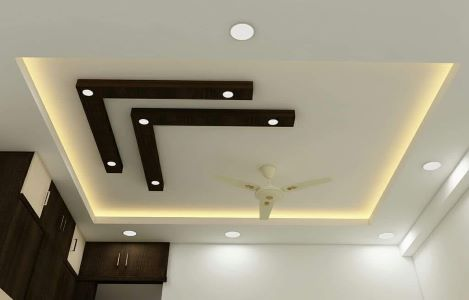L Shape Ceiling Design