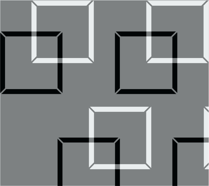 Geometric square Stencil