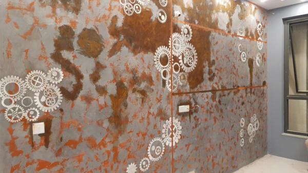 Calcecruda wall design