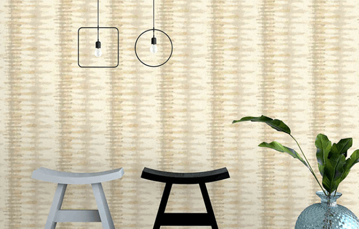 Collision wallpaper - Asian Paints Nilaya Wallcoverings